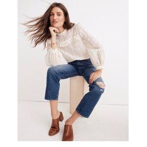 Madewell Classic Straight Jeans Jade Wash